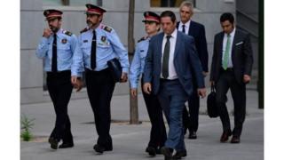 کاتالونیہ کے پولیس چیف