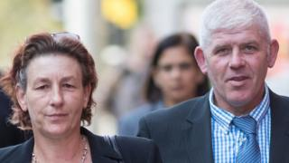 Julie Elmore and Paul Reece at Birmingham Magistrates' Court in August 2018