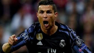 Ronaldo anashikilia rekodi ya ufungaji muda wote barani Ulaya akiwa na magoli 100