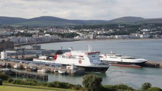 Steam Packet vessels, Isle of Man