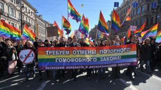 rusia, gay