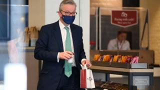 Health supplements fitness Michael Gove visit a Pret a Manger sandwich shop wearing a face mask on Tuesday