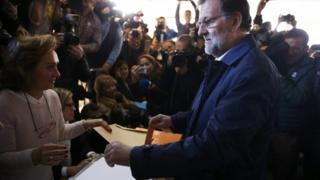 PM Mariano Rajoy, 20 Dec