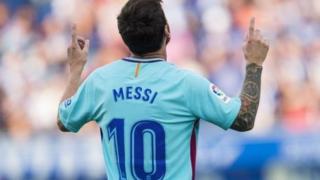 Messi ya ci kwallo na 100 a wasannin nahiyar Turai