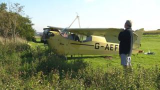 Single-engined aeroplane