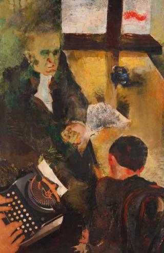 Interrogation I, by Friedl Dicker (1934)