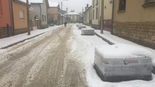 Sneg u Negotinu
