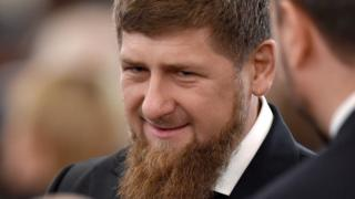 Chechen leader Ramzan Kadyrov at Russian President Vladimir Putin's Federal Assembly address at the Kremlin in Moscow, 1 December 2016