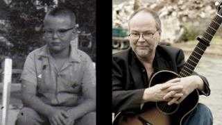 Walter Becker as a boy and as a man