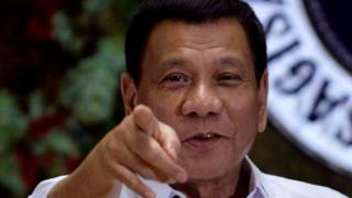 Rodrigo Duterte, Filipina
