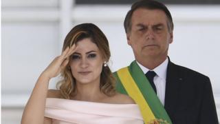 Michelle Bolsonaro discursa em linguagem de sinais na posse de Bolsonaro