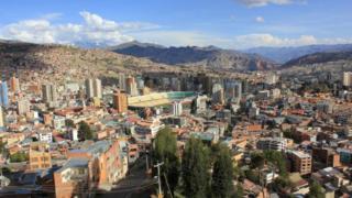 Estadio Hernando Siles, en La Paz.