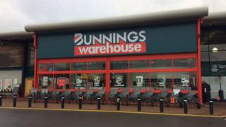 Bunnings in St Albans