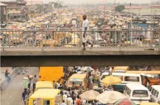 Sehemu ya mji wa Lagos