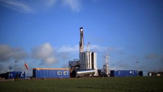 Fracking site near Blackpool