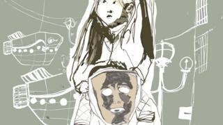 아버지와 딸 그림 작품