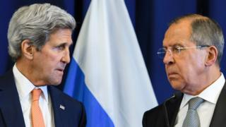 Kerry ve Lavrov