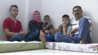 Mohammad Ameen and his family