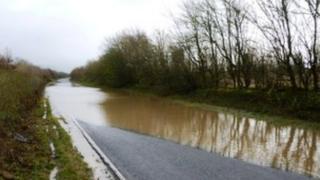 West Stafford flooding