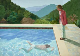 Portrait of an Artist (Pool With Two Figures)