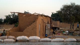 Inondation à N'Djamena (archive)