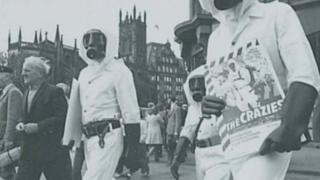 The Crazies screened at EIFF in 1973 and staff dressed up in decontamination suits to distribute promotional materials to bewildered passers-by on Princes Street