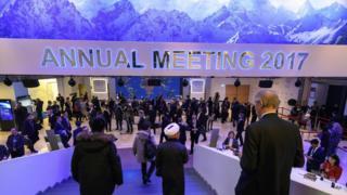 世界经济论坛在瑞士达沃斯召开