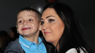 """Bradley's mum Gemma had previously said his deterioration had been """"heartbreaking"""""""