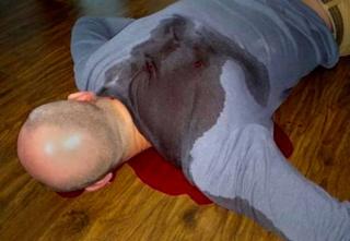 Arkady Babchenko's faked murder - using pig's blood