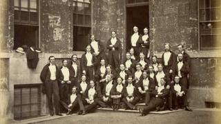 члены Буллингдонского клуба в XIX веке