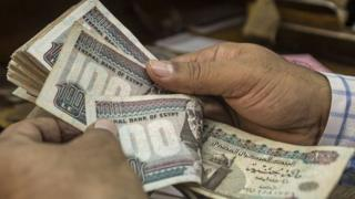 Egypt floated its currency in a move aimed at strengthening confidence in the economy, 3 November 2016