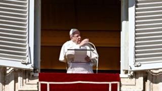 Pope Francis addresses crowds on the Epiphany feast day