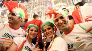 هواداران ایران در مسکو