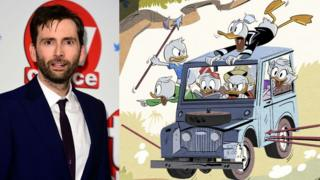 David Tennant DuckTales