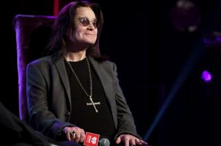 Ozzy Osbourne speaks onstage at iHeartRadio ICONS