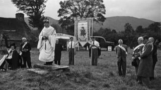 Cyhoeddi Eisteddfod Powys yn Nyffryn Banw yn 1948