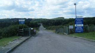 Treatment works in Ogmore-by-Sea