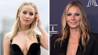 Jennifer Lawrence and Gwyneth Paltrow