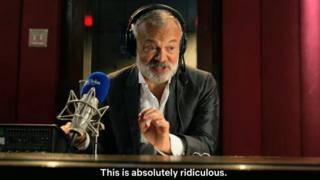 Graham Norton in Eurovision: The Story of Fire Saga