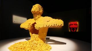 Выставка Lego в Нью-Йорке