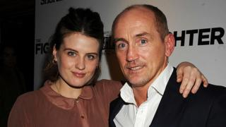 Nika McGuigan and Barry McGuigan attend the private screening of 'The Fighter' at The Soho Hotel on January 24, 2011 in London, England