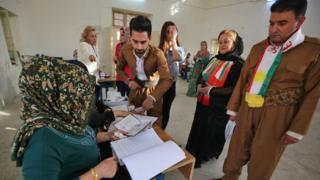 همه پرسی کردستان