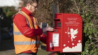 Lover postbox