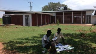 The new maternity hospital in Kachumbala, Uganda