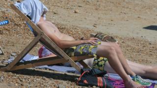 Man in sun