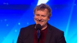 Noel James ar Britain's Got Talent