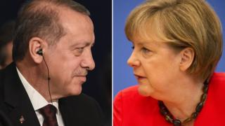 Erdoğan ve Merkel