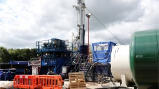 environment Fracking - Balcombe