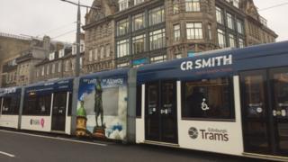 Edinburgh Tram Pic Brian Innes
