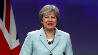英國首相特里莎·梅(Theresa May,又譯文翠珊)